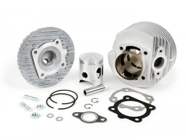 Zylinder -DR 133 ccm 6 Überströmer, Aluminium- Vespa PV125, ET3 125, PK80-125