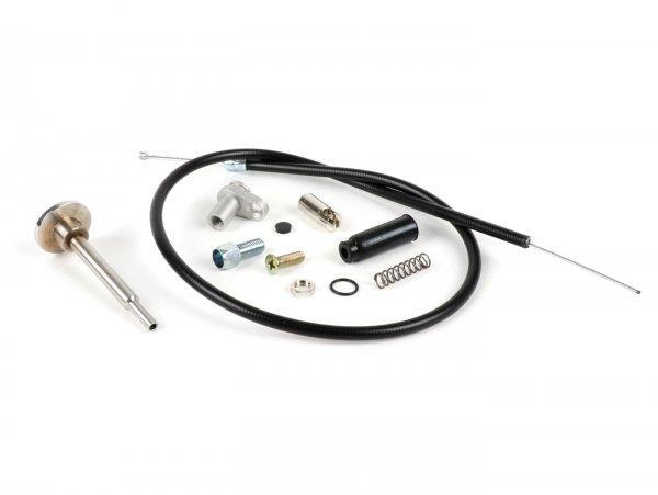 Kit adaptador estárter de cable (incl. tracción y palanca) -SCOOTER CENTER- Dell'Orto PHBH, PHBL, VHSA, VHSB für Vespa PX, T5, Rally, Sprint, GT/GTR, TS, Super, VNB, VBA, VBB
