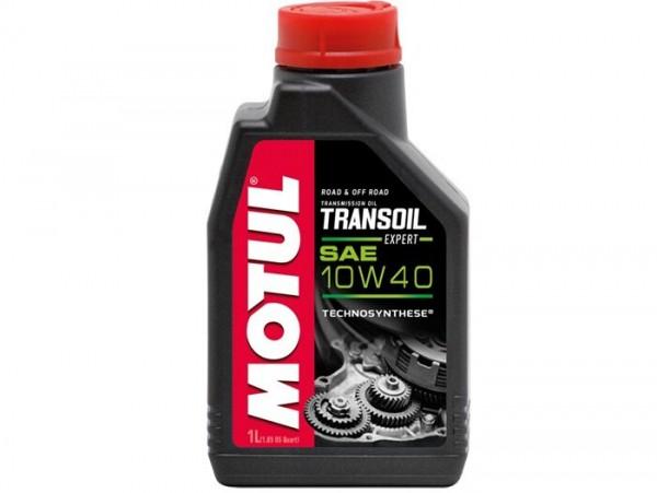 Getriebeöl -MOTUL Transoil Expert- SAE 10/W40, GL4 ESTER -1000ml - z.B. Vespa GT/GTS 125-250-300ccm