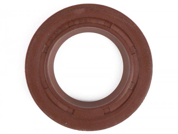 Wellendichtring 20x30x5/6,1mm -MALOSSI FKM- (verwendet für Kurbelwelle Lichtmaschinenseite Minarelli 50 ccm (Typ MA, MY, CW, CA, CY), CPI 50 ccm)