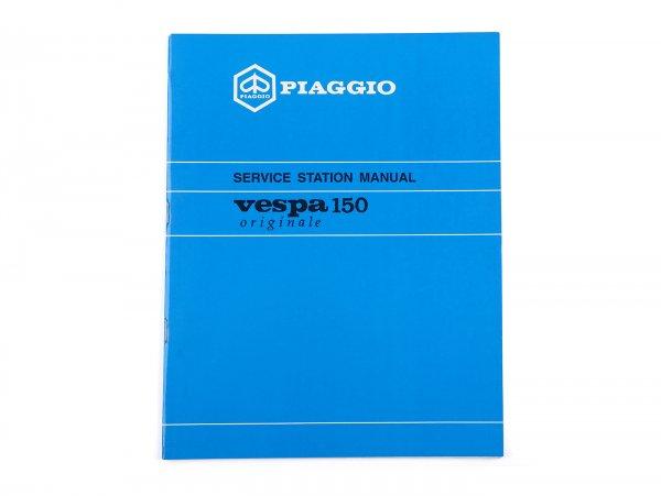 Manual completo de taller -PIAGGIO- Vespa PX125/150 - 62 páginas - inglés