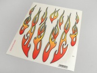 Kit autocollants -FLAMMES- 200x240mm