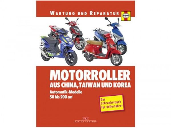 Book -Wartung und Reparatur- Automatikroller 50-200cc (China, Taiwan und Korea) - Das Schrauberbuch für Rollerfahrer - by Phil Mather