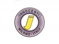 Sticker -LAMBRETTA Innocenti Milano Ø=55mm-
