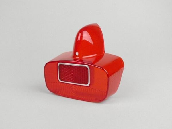 Rücklichtglas -SIEM- Vespa GS - Rot