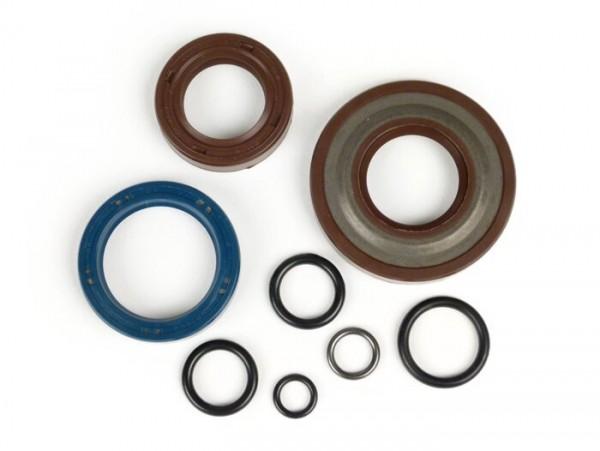 Oil seal set engine -CORTECO FKM- Vespa PK50 XL - (Ø 20mm cone) - incl. O-rings