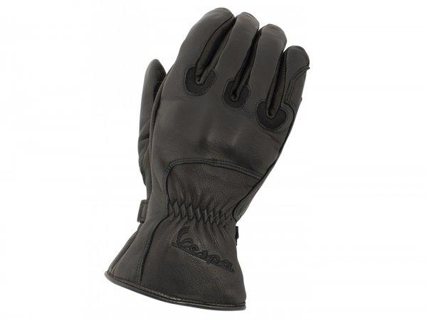 "Gloves -VESPA ""Winter"" - black - L"