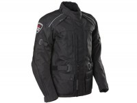 Jacket -SCEED 42 Downtown Race-  textile, with mambrane, black - 3XL