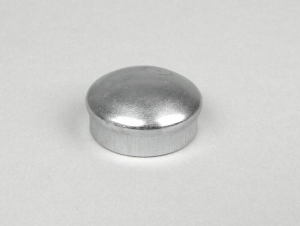 Cover for wheel nut / brake drum Ø=30mm -OEM QUALITY- Vespa PX (-1984 - front)