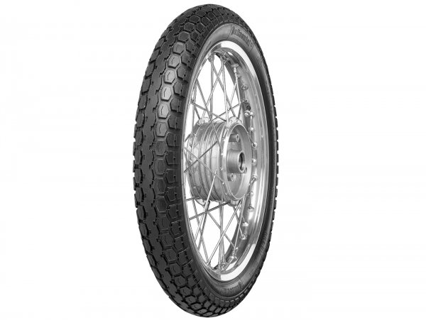 Neumático -Continental KKS 10- 2.50-19 / 2 1/2-19 (marcado de tamaño antiguo 23x2.50) 45J TT reinforced