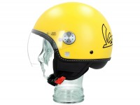 Helmet -VESPA Visor 3.0- yellow gelosia (974A) - L (59-60cm)