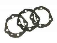 Gasket set for cylinder base -POLINI 207/210/221cc- Vespa PX200, Rally200 - 0.25mm/0.50mm/0.75mm