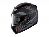 Helmet -NOLAN, N60-5 Practice- full face helmet, matt black - grey - XXS (54cm)