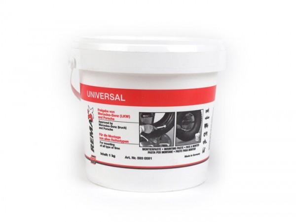 Tire mounting paste, white -ECON- 1 kg