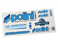 Kit autocollants -POLINI- Dreambike 170x297mm