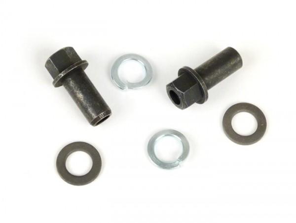 Kit de fijación para carburador Dellorto SI -VESPA PX (-1984), Rally180 (VSD1T), Rally200 (VSE1T), Sprint150 (VLB1T), TS125 (VNL3T), GT125 (VNL2T), GTR125 (VNL2T), GL150 (VLA1T), Super, VNA, VNB, VBA, VBB