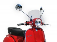 Screen -ERMAX Piccolo- Vespa PX80, PX125, PX150, PX200 - clear
