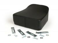 Sitzkissen -MADE IN ITALY (21x29x12cm)- Vespa V50, PV125, PV - schwarz