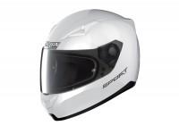 Casco -NOLAN, N60-5 Sport- casco integrale, bianco metallizzato - L (59-60cm)