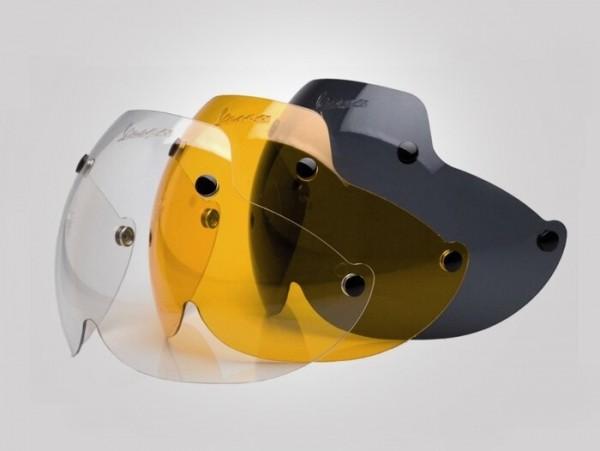 Visor for helmet-VESPA Soft Touch- large - colorless