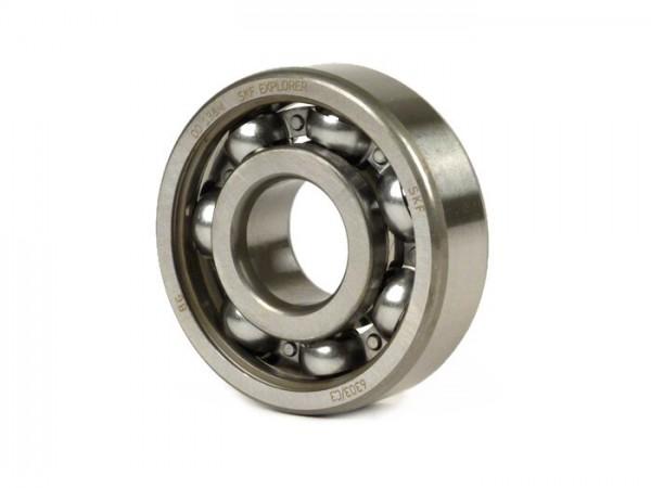 Ball bearing -6303 C3- (17x47x14mm) - (used for crankshaft drive side Vespa V50, V90, PV125, ET3, PK S, PK XL, Lambretta Lui, J)