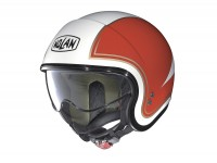 Helmet -NOLAN, N21 Tricolore- open face helmet, metallic white - L (59-60cm)