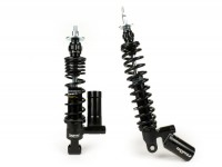 Shock absorber set -BGM PRO SC/F16 COMPETITION- Vespa Primavera 125, Vespa Primavera 150, Vespa Sprint 125, Vespa Sprint 150 - black