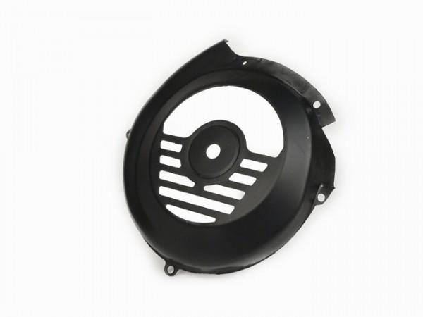 Lüfterradabdeckung -OEM QUALITÄT- Vespa V50 N (V5A1T 92877-), V90 (V9A1T 22235-) - schwarz