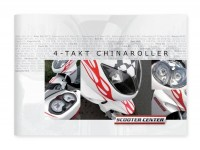 SCOOTER CENTER China 4-Takt Scooter Katalog
