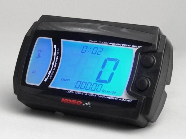 Speedo -KOSO XR-SR N- universal - with ece aproval mark - (115mm x 75mm x 28mm)