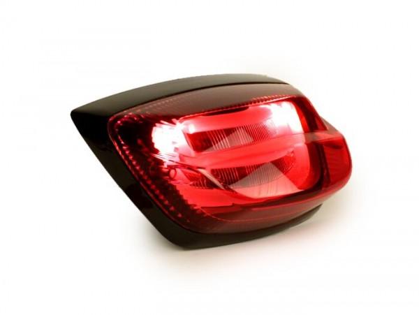 Rücklicht -POWER 1 LED Tube- Vespa LX, LXV - rot