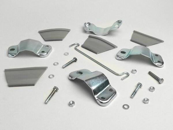 Mirror bracket -CUPPINI- Lambretta series 3, Paar