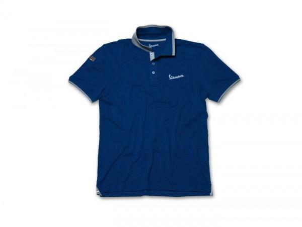 Polo-Shirt Herren -VESPA- blau - L