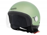 Helmet -VESPA jet helmet Sei Giorni - green - XL (61-62 cm)