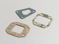 Kit guarnizioni per collettore aspirazione lamellare -POLINI- Vespa PK50 XL, PK125 XL