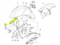 Montagerahmen Scheinwerfer -PIAGGIO- Vespa GTV (ZAPM31, ZAPM45)