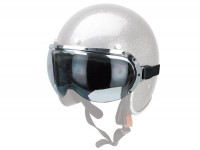 Vintage riding goggles -RB- fits helmets RB-710, RB-712, RB-750, RB-752, RB-760, RB-765 - smoke