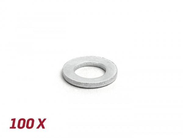 Unterlegscheibe -DIN 125- M6 - 100 Stück