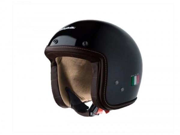 Helm -VESPA Pxential- schwarz glänzend - XS (52-54 cm)