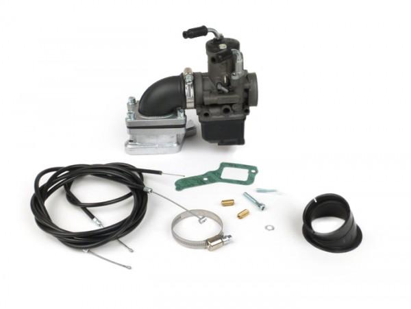 Kit carburador -MALOSSI 30mm Dellorto PHBH BD, válvula de láminas X360 V2.0- Vespa PX80, PX125, PX150, Sprint, Vespa Rally180 (VSD1T) - Ø conexión=34mm