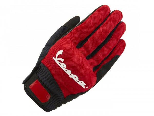 "Handschuhe -VESPA ""Color"" - rot - XL"