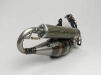 Exhaust -YASUNI Carrera 21- Piaggio 50cc 2-stroke