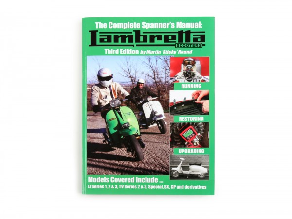 Book -Complete Spanner's Manual Lambretta -Third Edition- by Sticky