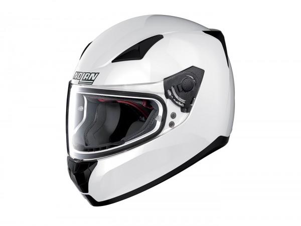 Helm -NOLAN, N60-5 Special- Integralhelm, pure white - XXL (63cm)