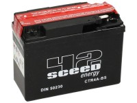 Batterie -Wartungsfrei SCEED 42 Energy- CTR4A-BS- 12V, 2Ah - 85x49x113mm (inkl. Säurepack)  - Honda Bali 50, SJ50, AF32, SJ 50, X8R, SZX, SFX50