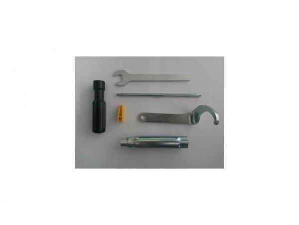 Type tool set -PIAGGIO- Aprilia SR Max 125 (ZAPM357, ZD4M357), Aprilia SR Max 300 (ZAPM3560, ZD4M3560), Gilera Nexus 125 (ZAPM35500, ZAPM35700), Gilera Nexus 250 (ZAPM35300, ZAPM35400), Gilera Nexus 300 (ZAPM35600)