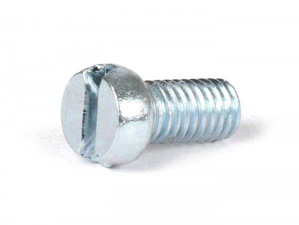 Schraube -DIN 84- M6 x 10mm (verwendet für Lüfterradabdeckung Vespa)