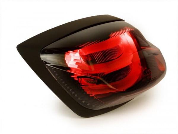 Rücklicht -POWER 1 LED Tube- Vespa LX, LXV - smoked / schwarz getönt