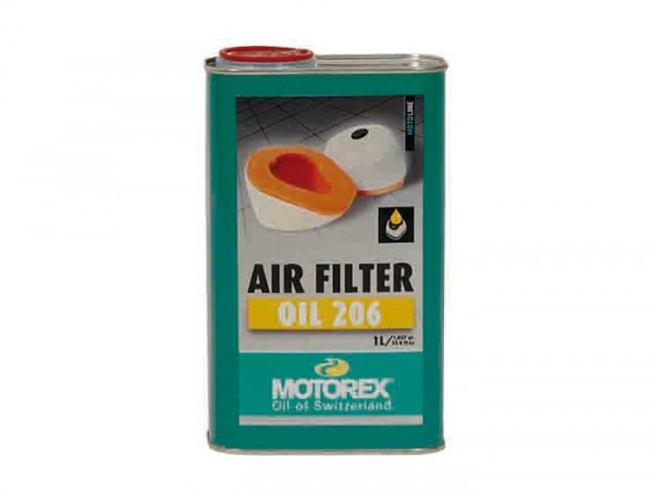Luftfilteröl -MOTOREX Oil 206- 1000ml