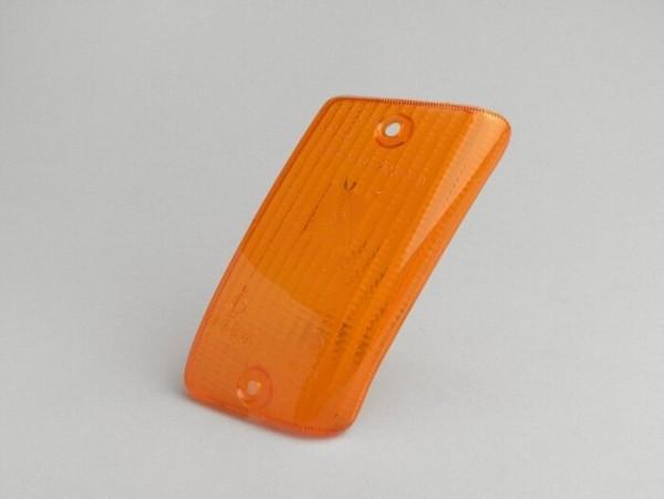 Blinkerglas -PIAGGIO- Vespa PK50 XL, PK125 XL hinten rechts - Orange